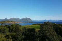 Utsikt fra Bø