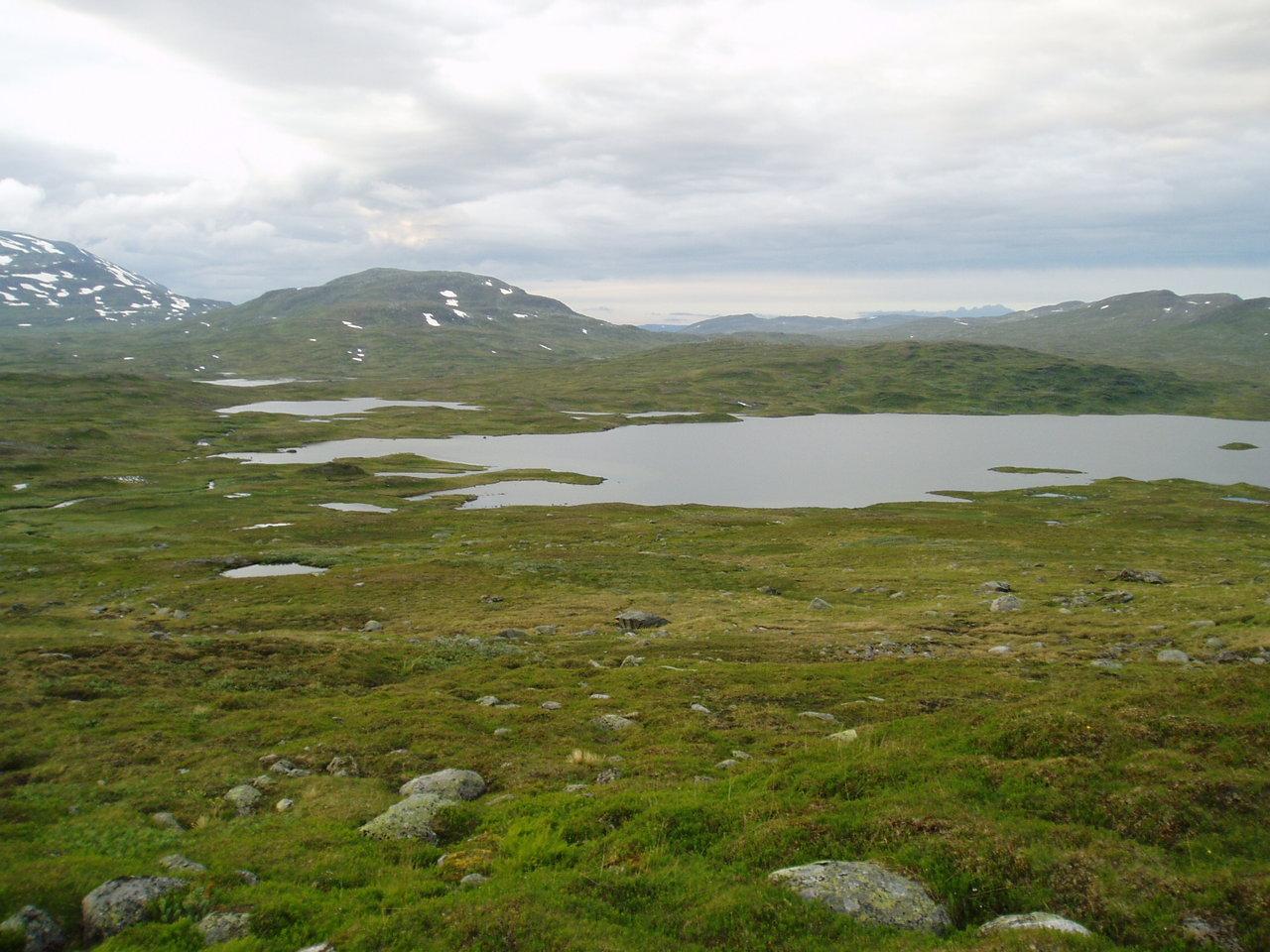 Fisketur til Børgefjell 2004